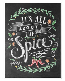 Premium poster  It's all about the Spice - Lily & Val