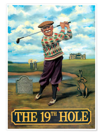 Premium poster  The 19th Hole - Peter Green's Pub Signs Collection