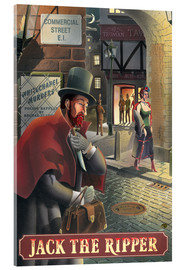 Acrylic glass  Jack the Ripper - Peter Green's Pub Signs Collection