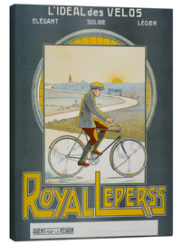 Canvas  L'IDEAL OF BICYCLES (...) ROYAL LEPERSS