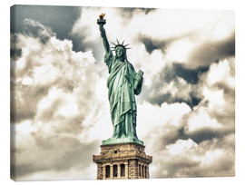 Canvas  Statue of Liberty - symbol of New York