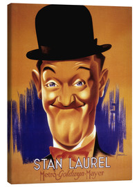 Canvas print  Stan Laurel