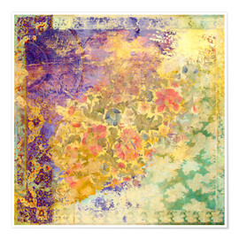 Premium poster  Ancient Future Illuminated Garden - Aimee Stewart