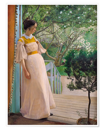 Premium poster The Artist's Wife