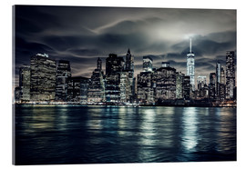 Manhattan at night, New York City