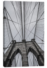 Canvas print  Brooklyn Bridge in New York