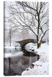 Canvas print  Winter in New York