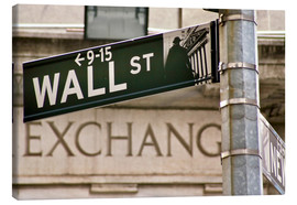 Canvas print  Wall Street