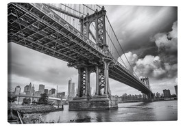 Canvas print  The Manhattan Bridge