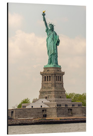 Aluminium print  Statue of Liberty