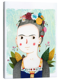 Canvas print  Frida - Judith Loske