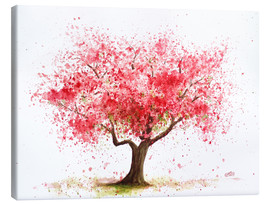 Canvas  cherry tree - Nadine Conrad
