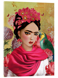 Acrylic print  Frida - Mandy Reinmuth