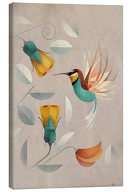 Canvas  Humming-bird - Dieter Braun