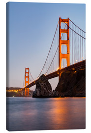 Canvas print  ?San Francisco Golden Gate Bridge at sunset
