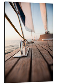 Aluminium print  Sailing in the Wind