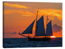 Canvas print  Hanseatic sailing ship