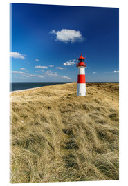 Acrylic print  Lighthouse - Sylt Island - Achim Thomae
