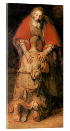Acrylic print  Return of the Prodigal Son (detail) - Rembrandt van Rijn