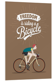 Forex  Freedom is riding a bicycle - Typobox