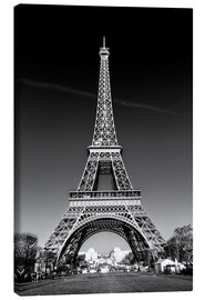 Canvas print  The Eiffel Tower, Paris - Sascha Kilmer