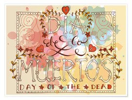 Premium poster  Day of the Dead