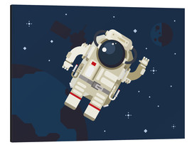 Aluminium print  Hello, little astronaut - Kidz Collection
