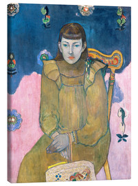 Canvas print  Portrait of a young girl - Paul Gauguin