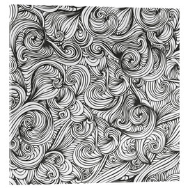 Acrylic print  Curly pattern