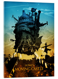 Acrylic print  Howl's Moving Castle 2 - Albert Cagnef