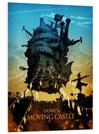 Foam board print  Howl's Moving Castle 2 - Albert Cagnef