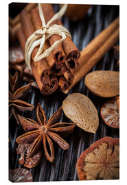 Canvas print  winter spices