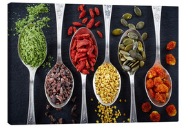 Canvas print  Healthy Ingredients