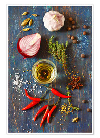 Poster  Spices and Herbs