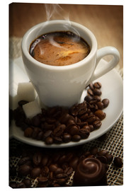 Canvas print  Small cup of Espresso