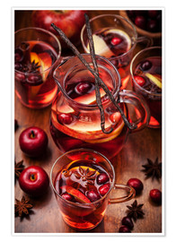 Premium poster Christmas punch