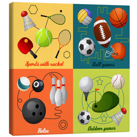 Canvas  Do some sports - Kidz Collection