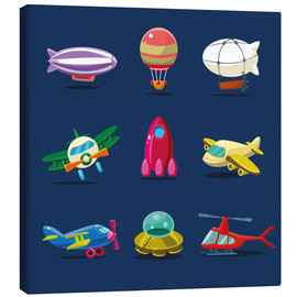 Canvas print  From the skies - Kidz Collection
