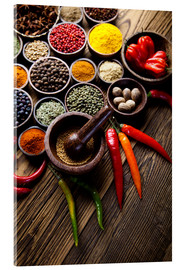 Acrylic print  Healthy Spice Kitchen