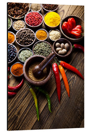 Aluminium print  Healthy Spice Kitchen