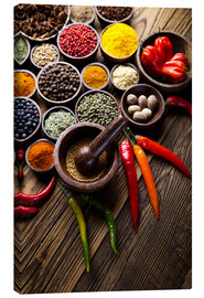 Canvas print  Spice kitchen