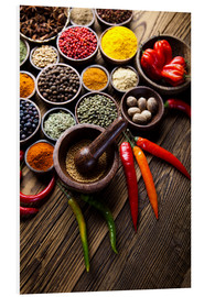Foam board print  Healthy Spice Kitchen