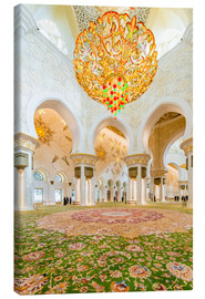 Canvas  Sheikh Zayed mosque in Abu Dabi