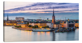 Canvas print  Old Town (Gamla Stan) in Stockholm, Sweden