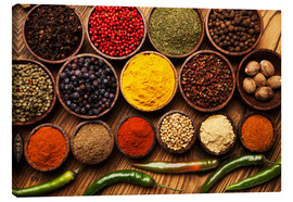 Canvas print  Hot spice mix