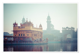 Premium poster Golden Temple of Amritsar