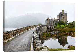 Canvas print  Eilean Donan Castle in Scotland