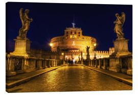 Canvas print  Ponte Sant'Angelo in Rome