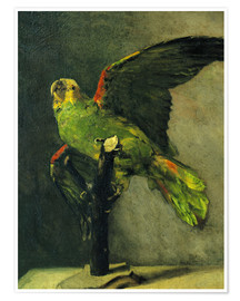 Premium poster  The green parrot - Vincent van Gogh
