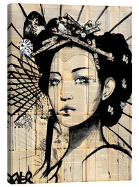 Canvas  lotus - Loui Jover